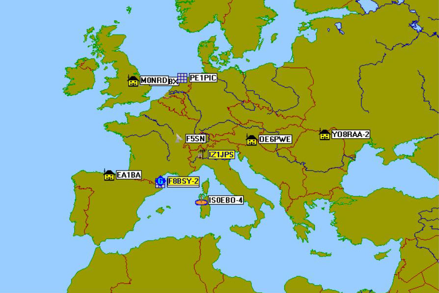 La Station Spatiale ISS toujours active en APRS | Radio-Club